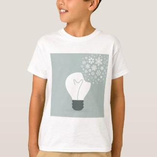 T-shirt Flocon de neige un bulb2