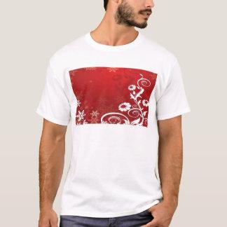T-shirt Flocons de neige floraux