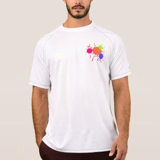 T-shirt Flocs de Paintball