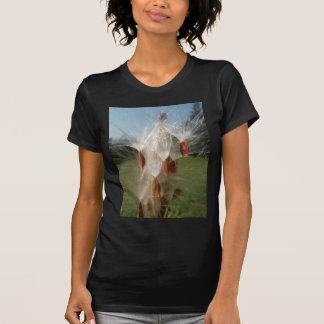 T-shirt Flora vintage et Milkweeds Floating.jpg de faune