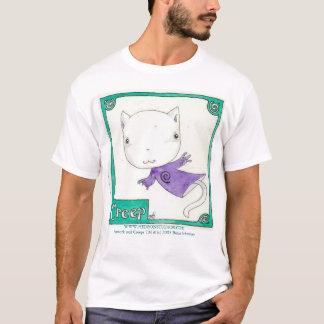 T-shirt Fluage de Kitty avec des spirales