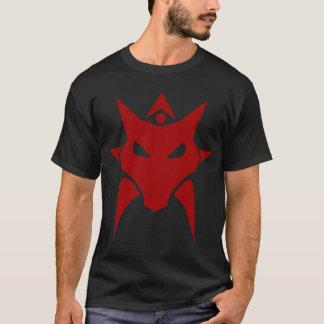 T-shirt foncé de rouge de dragon
