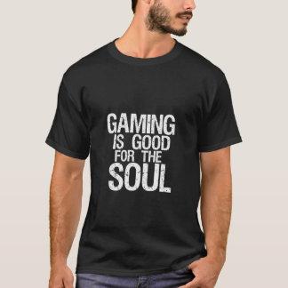 T-shirt foncé d'humour drôle de geek pour des