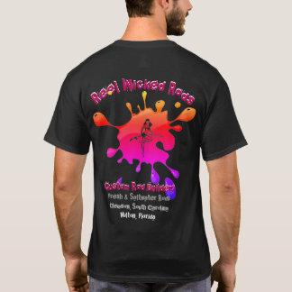T-shirt foncé mauvais XL de Rods de bobine