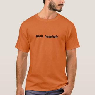 T-shirt Fonctionnement d'Assphalt de coup-de-pied