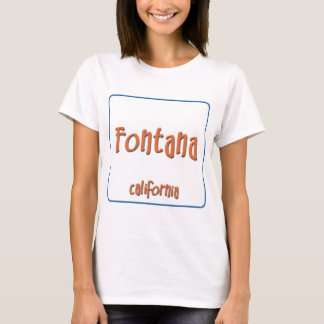 T-shirt Fontana la Californie BlueBox