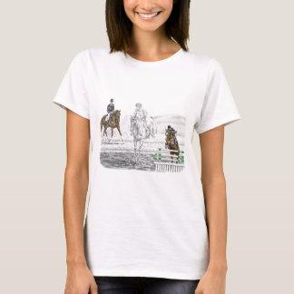 T-shirt formation combinée de chevaux de trois jours de