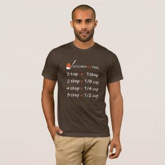 T-shirt Formule de cuisine