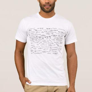 T-shirt Formules et nombres de maths