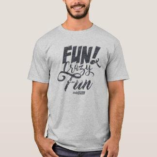 T-shirt fou d'amusement d'amusement