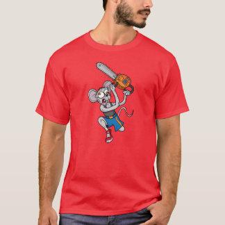 T-shirt fou de bande dessinée de souris de