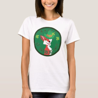 T-shirt Fox du jour de St Patrick
