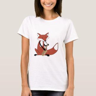 T-shirt Fox jouant le saxophone