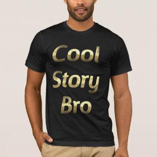 T-shirt frais métallique de Bro d'histoire
