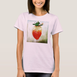 T-shirt Fraise peinte