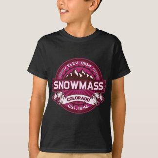 T-shirt Framboise de Snowmass
