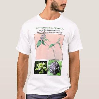 T-shirt Framboise noire sauvage
