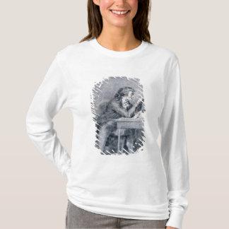 T-shirt Francois Buzot contemplant un portrait