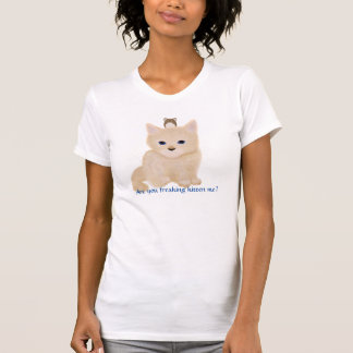 T-shirt Freaked chaton