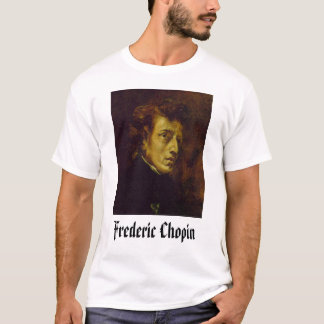 T-shirt Frederic Chopin, Frederic Chopin