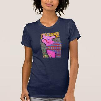 T-shirt Frenchie avec la pièce en t d'obscurité d'art de