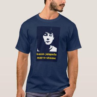 T-shirt Fromage de l'imper n de Jalapeno de lard