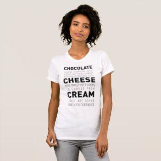 T-shirt Fromage fondu de chocolat