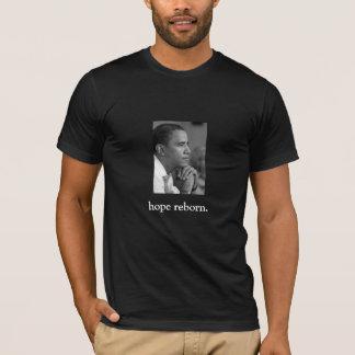 T-shirt FRONT/BACK OBAMA/hope rené/citation de la parole