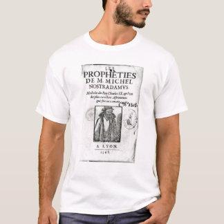 T-shirt Frontispice à 'Les Propheties de M. Michel