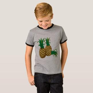 T-shirt fruit de trois ananas