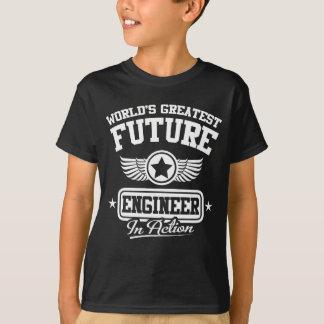 T-shirt Futur ingénieur dans l'action