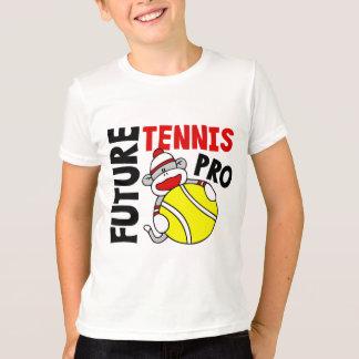 T-shirt Futur pro singe de chaussette de tennis