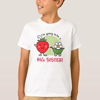 T-shirt Future fraise de grande soeur