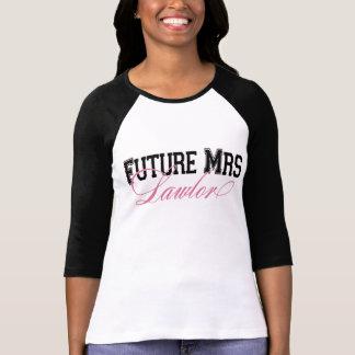 T-shirt Future Mme pièce en t faite sur commande de jeune
