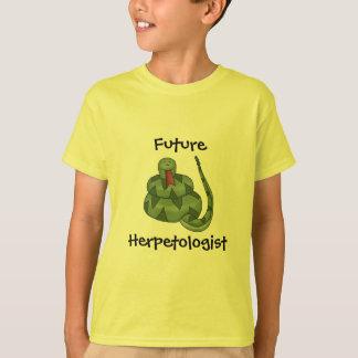 T-shirt Futurs enfants mignons d'amant de serpent de