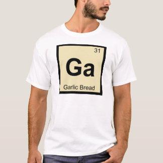 T-shirt GA - Symbole de Tableau périodique de chimie de