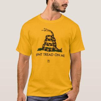 T-shirt Gadsden Rattler, NE MARCHENT PAS SUR MOI, Bratton