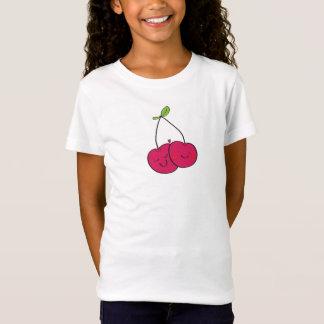 T-shirt gai d'été de cerise