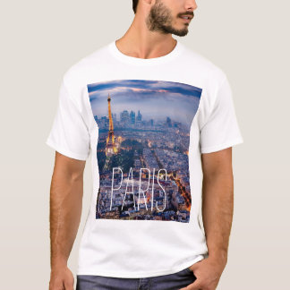 T-shirt gainé par short de Paris
