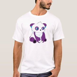 T-shirt Gamer d'ours panda