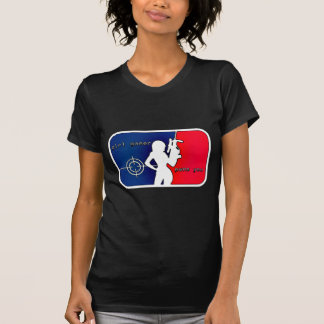 T-shirt Gamer Pwns de fille vous !