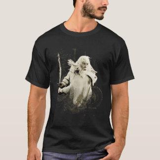 T-shirt Gandalf avec le collage de vecteur d'épée