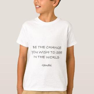 T-shirt gandhi