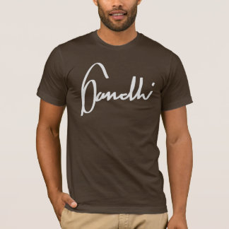 T-shirt Gandhi écrit