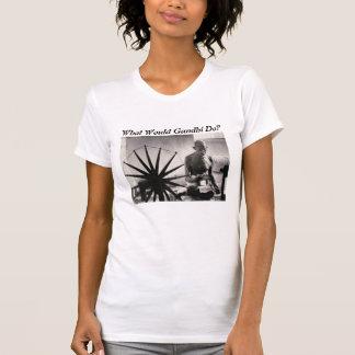 T-shirt gandhi tissant, que Gandhi ferait-il ?