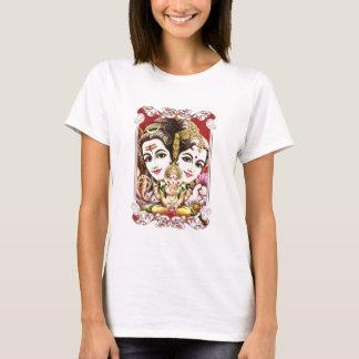 T-shirt Ganesh, Shiva et Parvati, seigneur Ganesha, Durga