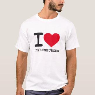 T-shirt garants de filtre iLove