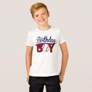 T-shirt Garçon d'anniversaire, chemise d'anniversaire,