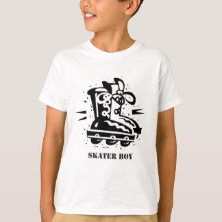 T-shirt Garçon de patineur - roller