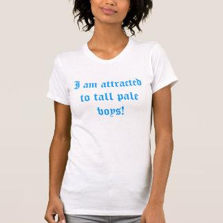 T-shirt Garçons pâles grands